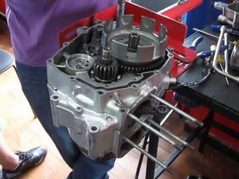 Video Aula Curso Mecanica de Moto - Embreagem
