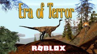 ROBLOX ERA OF TERROR DINOSAUR Survival Game! Herbivores & Omnivores