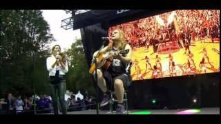 Anjali Ranadive and Tesla performing Love Song at Long Live Kings Rally