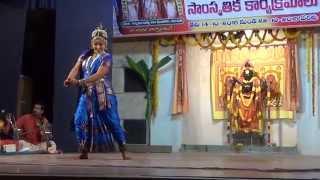 Smt. Vineela vuddisetty.. Kuchipudi bhama kalapam video