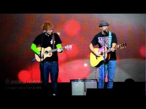 Ed Sheeran And Jason Mraz Duet - Z100's Viewing Party - 12/7/12