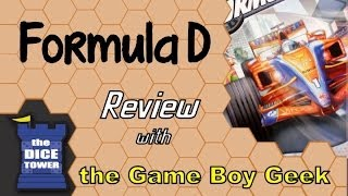 Formula D Review - with the Game Boy Geek