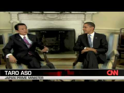 Remarks by President Obama and Prime Minister Aso before meeting