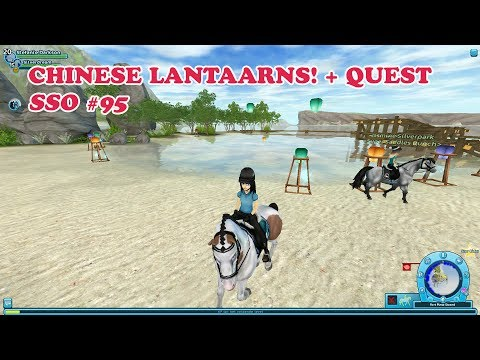Star Stable Online - Chinese lantaarns + Quest! | SSO Let's Play #095