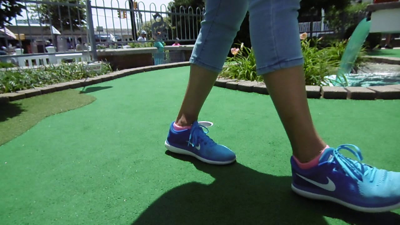PLAYING MINI GOLF IN CAPE MAY PART 2 VLOG# 98