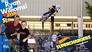Getting Huge Air!! First Nitro Circus/Hot Wheels Superchargers Competition- Ryan Williams!!!