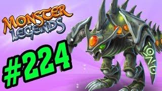 ✔️LEGENDARY! HÓA THẠCH BỌ CỔ ĐẠI! - Monster Legends Game Mobiles - Quái Vật Android, Ios #224