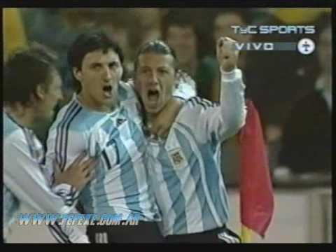 (2007) Australia 0-1 Argentina || gol de Martin Demichelis