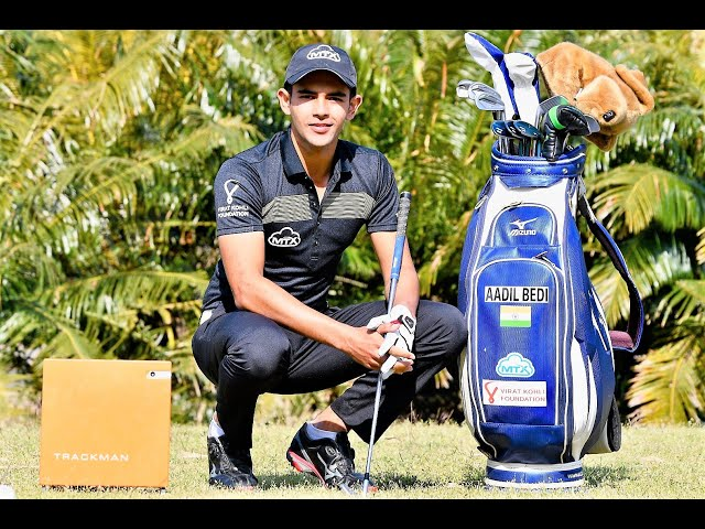 TRACKMAN GOLF-SET UP,  FEATURES- & OPERATION- AADIL BEDI