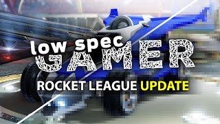 Low end tweaks for Rocket League running on Intel Atom (GPD Win)