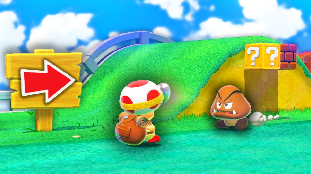 Can You Beat Every Level as Captain Toad in Super Mario 3D World?