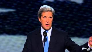 John Kerry DNC Speech Complete: Slams Romney on Foreign Policy at Democratic National Convention
