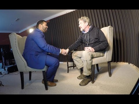 Face to Face with John Mcafee on Cryptocurrency | Founder of Mcafee Antivirus and Crypto investor |