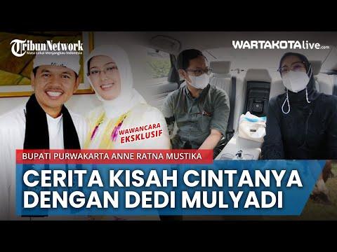 Bupati Purwakarta Anne Ratna Mustika Bicara Kisah Cintanya Dengan Dedi Mulyadi