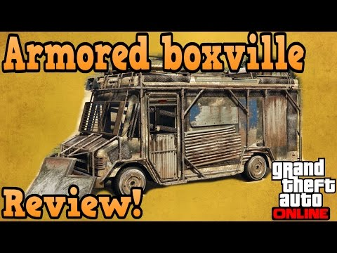 GTA online guides - Armored boxville review