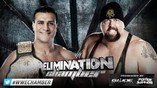 WWE ALBERTO DEL RIO VS BIG SHOW WHC ELIMINATION CHAMBER 2013 HIGHLIGHTS