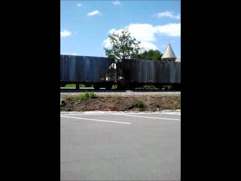 Freight Train by the park in Fort Payne Alabama