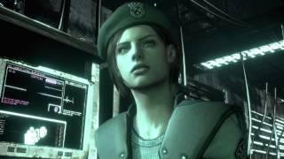 Resident Evil HD Remaster - The Tyrant (Jill) W/Barry + Saving Chris