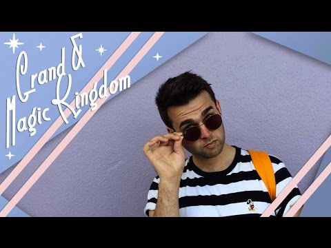 Grand Floridian & Magic Kingdom   Walt Disney World Vlog   April 2017   Adam Hattan