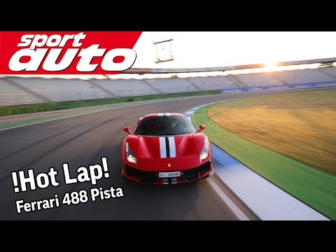 Ferrari 488 Pista: Production car lap record Hockenheim GP & 0-325 km/h | sport auto