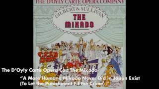 A More Humane Mikado Never in Japan Exist - The Mikado