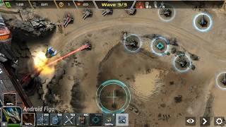 Defense Legend 3  Future War map1 gameplay