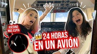 Gambar cover 24 HORAS EN UN AVIÓN PRIVADO!😱✈ BROMA ÉPICA! ft El Mundo de Camila | Katie Angel