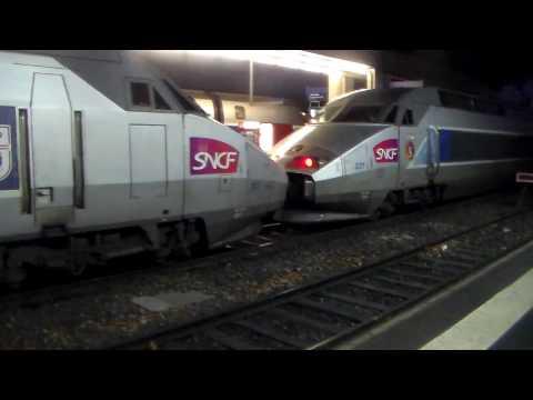 Gare de Rennes le dimanche soir