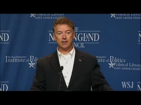 Rand Paul Speech Highlights in New Hampshire