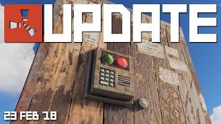 Grief protection on tool cupboards | Rust update 23rd Feb 2018