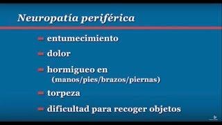 diabetes neuropatía icd 10