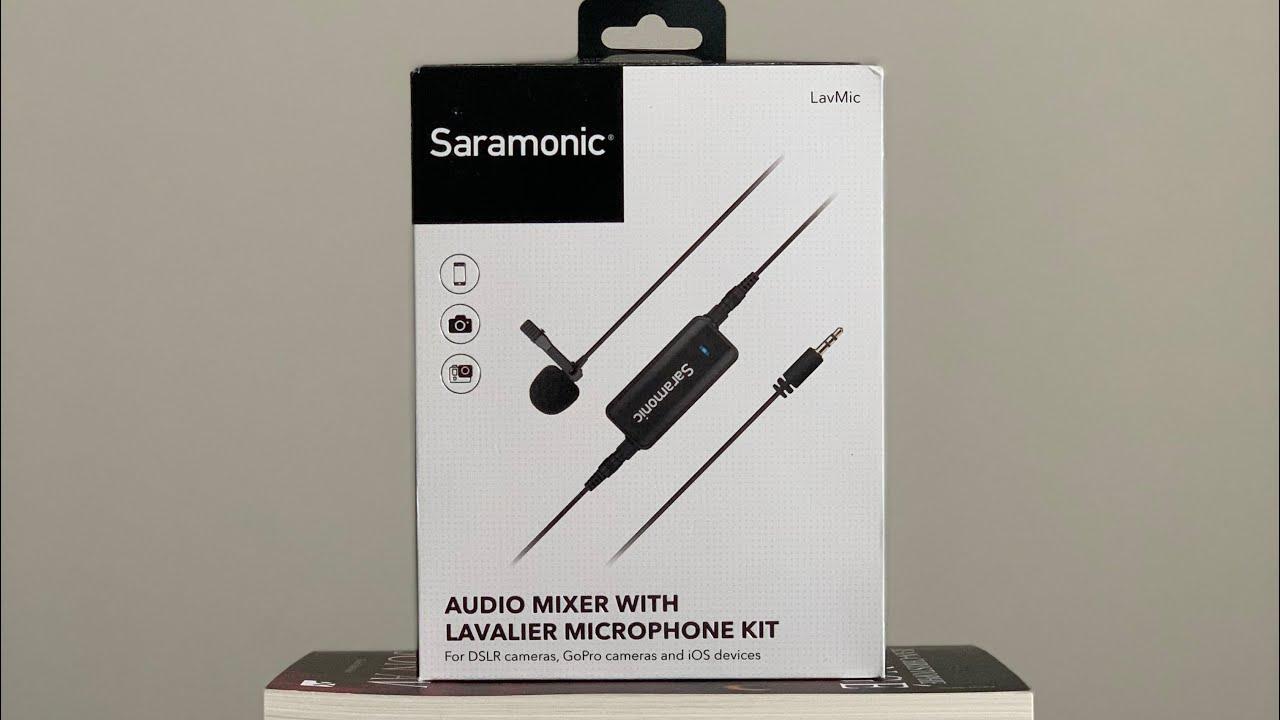 Saramonic Lavmic Ses Mikserli Yaka Mikrofonu Kutu Açılışı Ve İnceleme