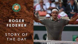 Story of the Day - Roger Federer #5 | Roland-Garros 2019