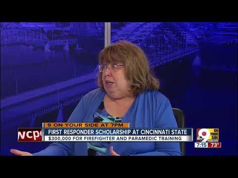 First responder scholarship at Cincinnati State