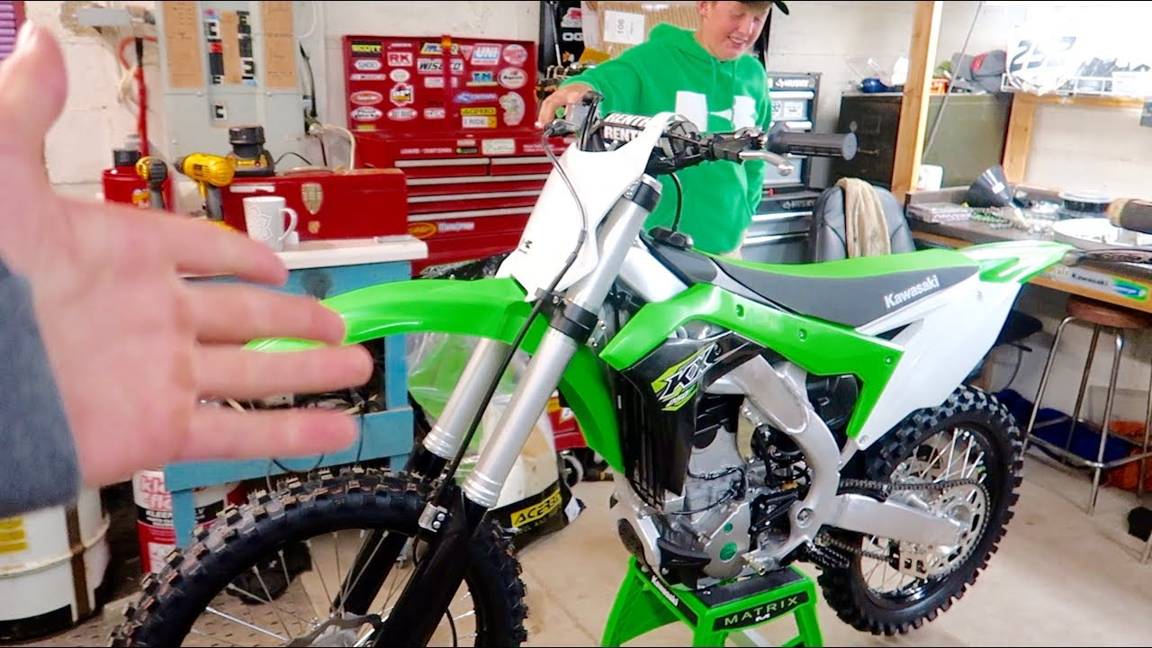 ANOTHER 2018 KX250F!!! + My Thoughts On The YAMAHA
