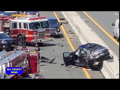 Teen Driver Dead, Passenger Critical In Crash Of Stolen Car On Interstate 280