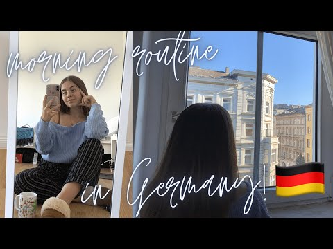 MY MORNING ROUTINE WORKING AS AN INTERN IN BERLIN, GERMANY! 🇩🇪 | Life on my Year Abroad (ad)