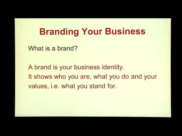 Marketing On A Budget Episode 4 BrandingYour Business
