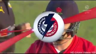 Glenn Maxwell 3 wickets vs Lancashire l Natwest T20 Blast 2015