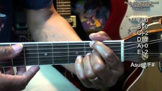 Purple Rain Prince Tribute EASY Acoustic Guitar Chords TABS Tutorial EricBlackmonMusicHD YouTube