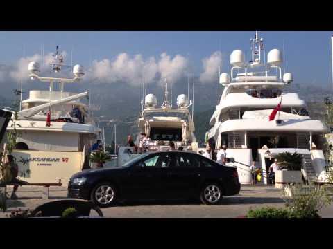 Montenegro - Budva boat marina