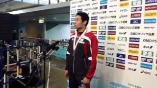 ジャパンオープン2012:高桑健(男子200m個人メドレー)