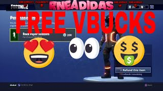 *NEW*REFUND ITEMS FOR FREE VBUCKS(FORTNITE)
