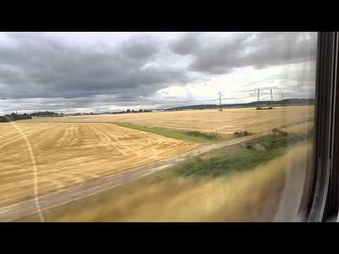Eurostar tren viaje de París a Londres