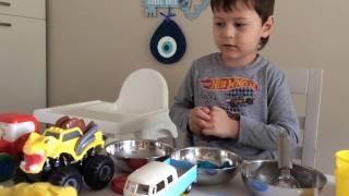 Oyun hamuru ile dondurmacılık oynadık | Eğlenceli çocuk videosu ABC KEREM  Забавное детское видео