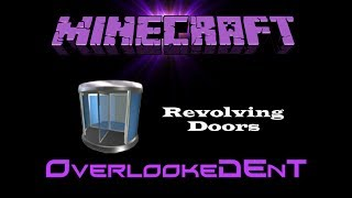 Revolving Doors - Minecraft Xbox 360/PS3 - [Tutorial]