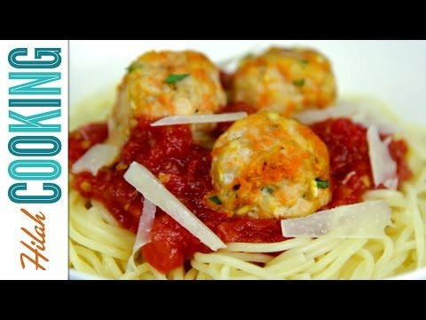 How to Make Baked Turkey Meatballs |  Hilah Cooking