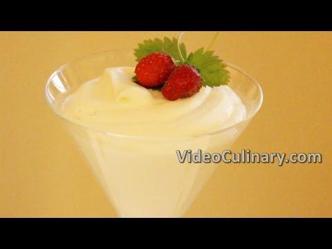 Bavarian Cream Recipe - Video Culinary