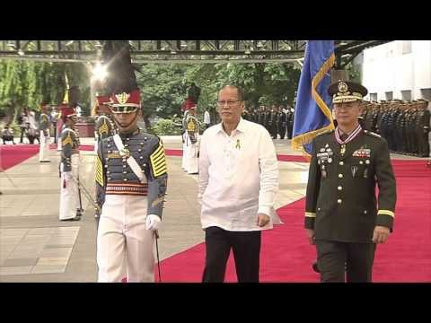 Review in honor of H.E. Benigno S. Aquino III 6/27/2016