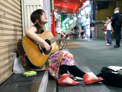 冨田麗香 「時代」 高円寺路上ライブ